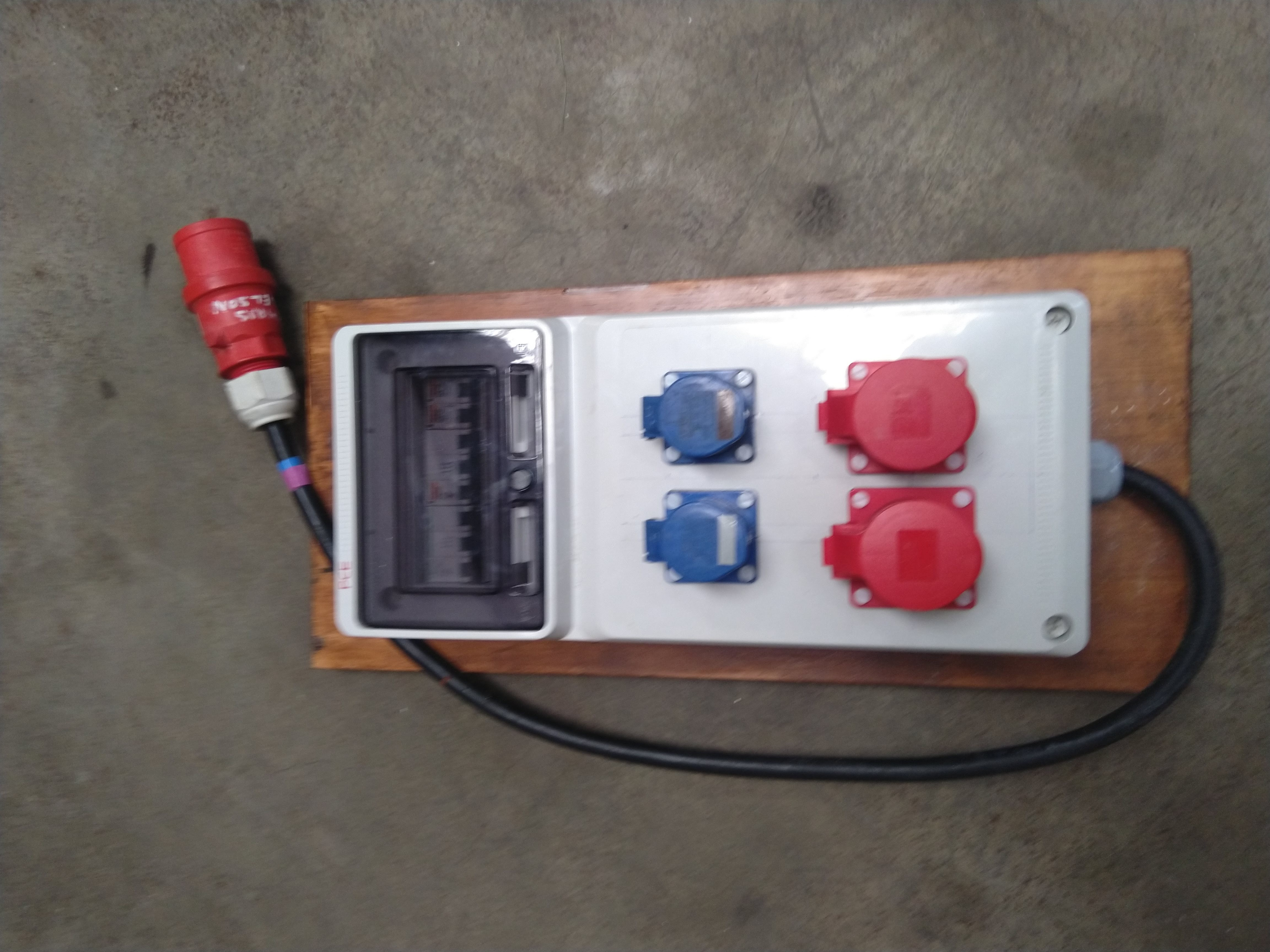 Temporary Electrical Panel